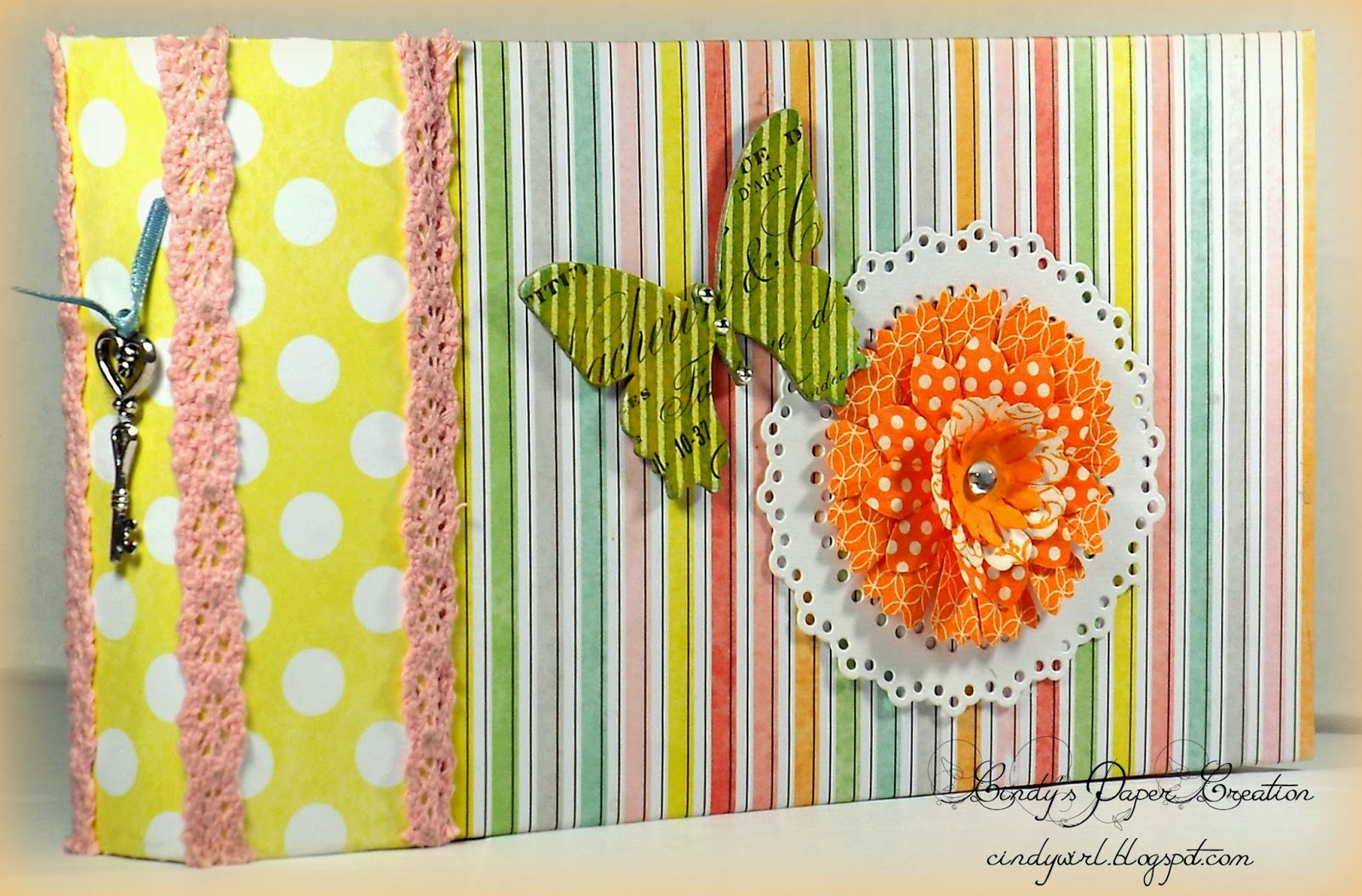 Easy Peasy Bag Mini Album by cindywirl.blogspot.com