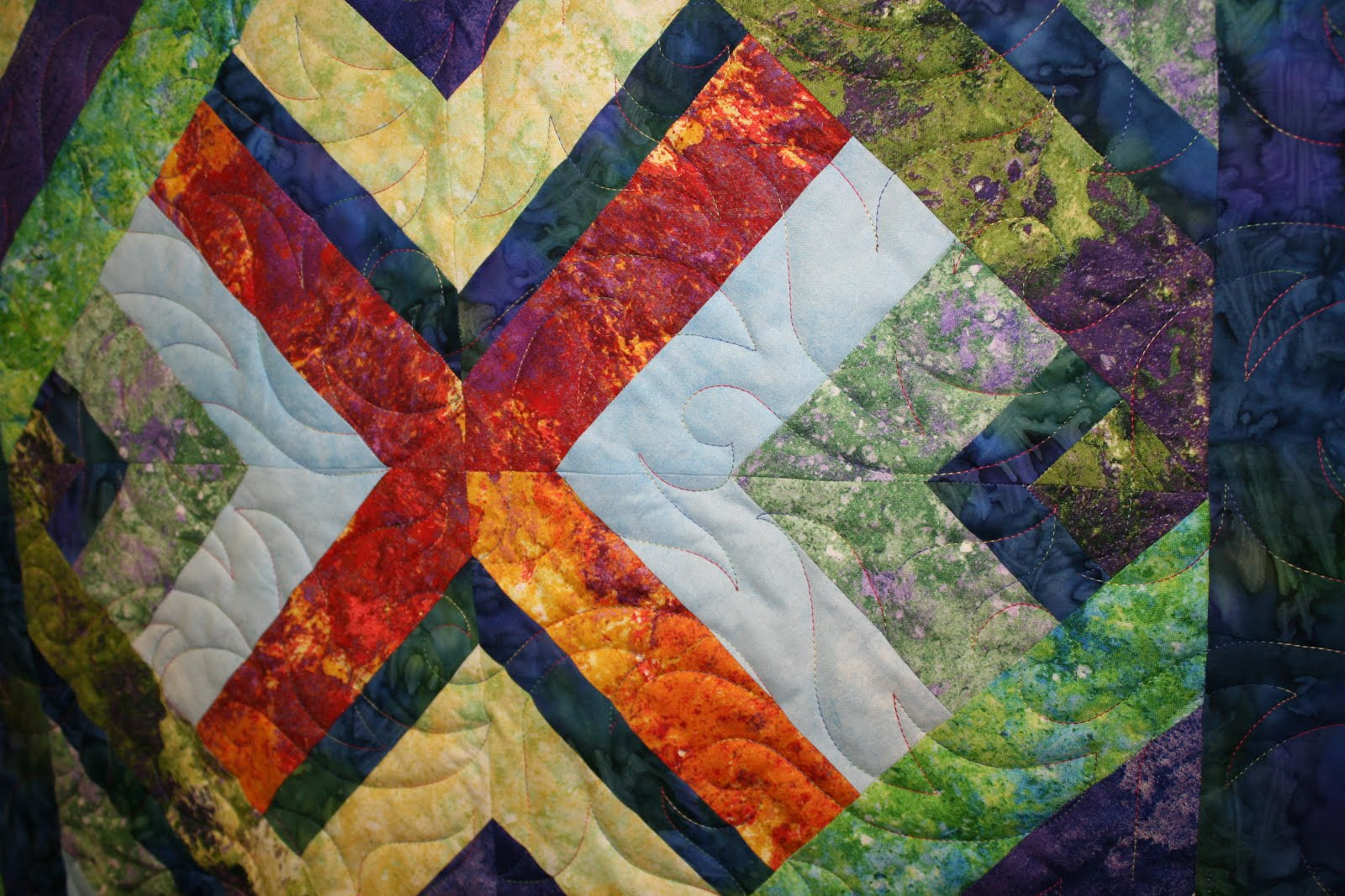 Quilting Momma & The Youngest: Donation quilt - United Way