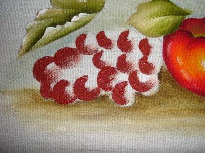 pintura em tecido uvas passo a passo como fazer
