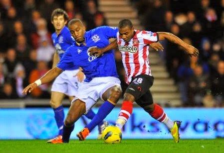 Sunderland vs Everton