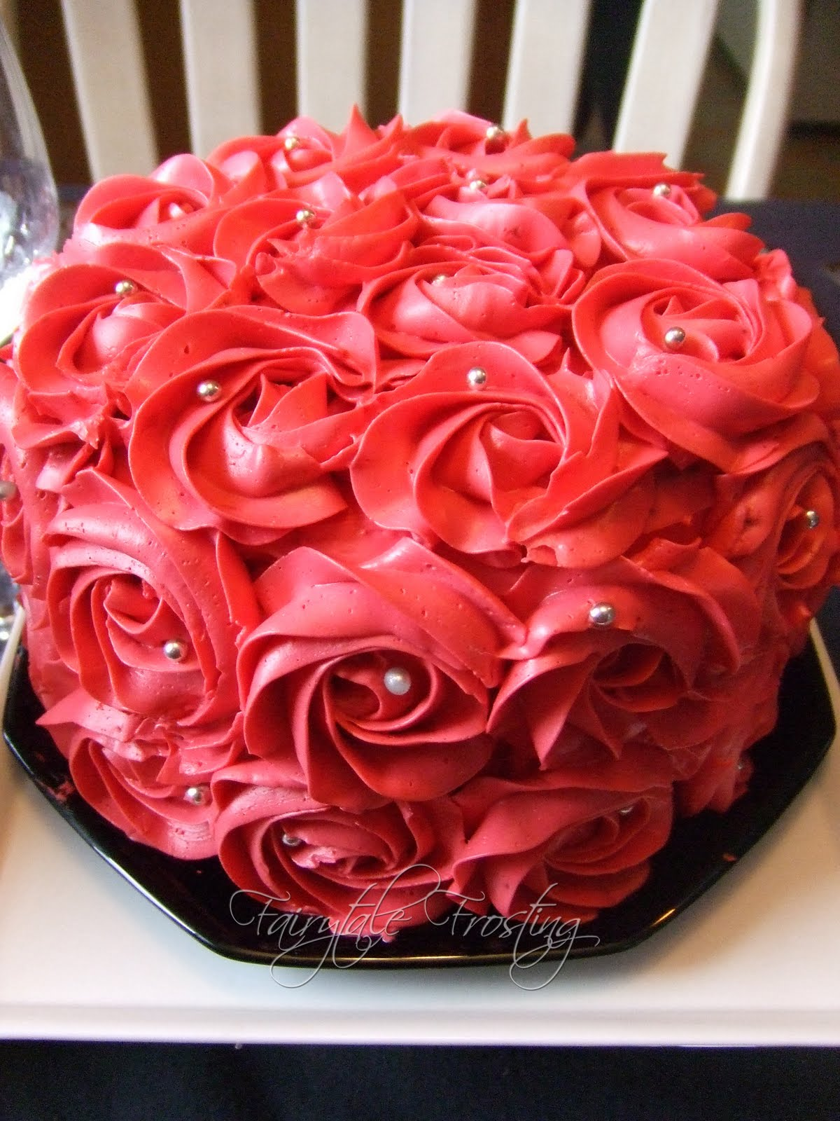 Images For Rose Cake : Fairytale Frosting: Our Valentine s Table