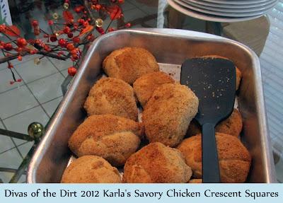 Divasofthedirt, Savory crescent Chicken squares