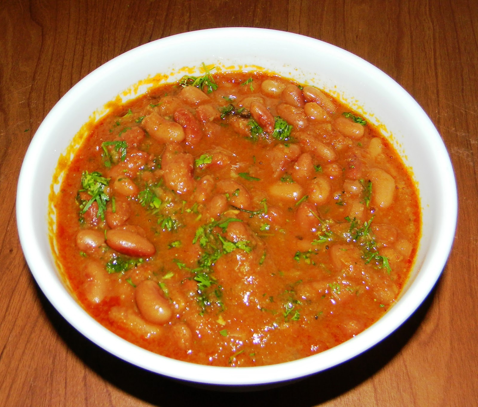 Red Kidney Bean Curry Recipe — Dishmaps