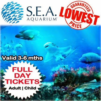 Sentosa S.E.A Aquarium Full Day Pass