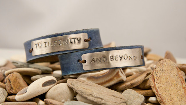 To Infinity And Beyond Bracelet Leather1