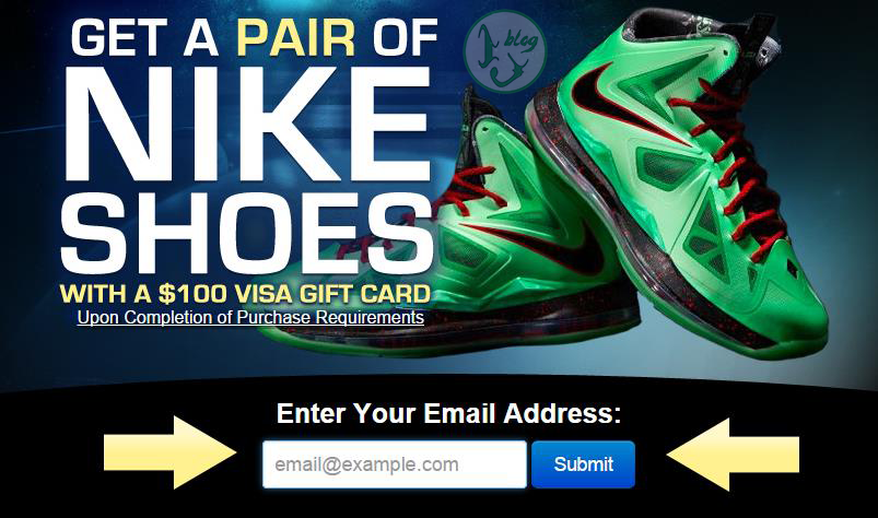 how to get free sneakers from nike