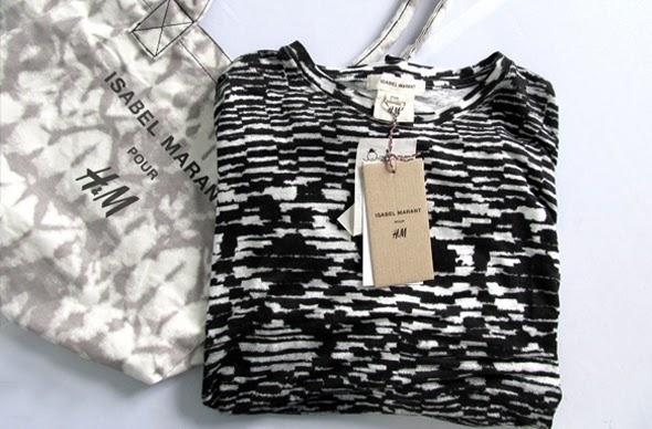 Camiseta Isabel Marant pour H&M, colaboraciones, hombre