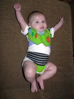 Freddie as Buzz Lightyear