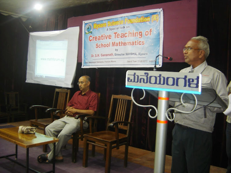 creative teaching of school mathematics