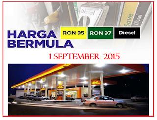 Harga Terkini Minyak September 2015