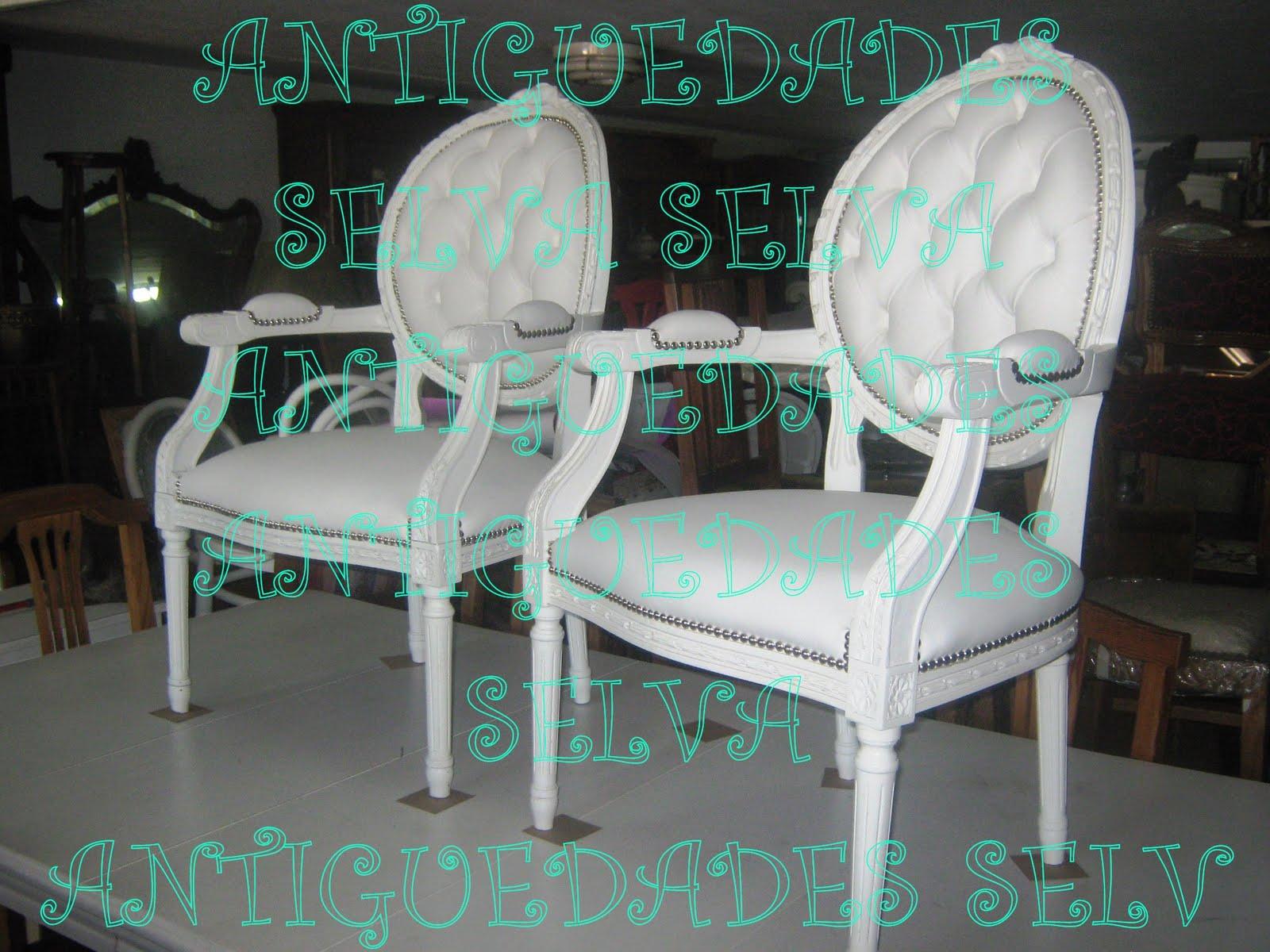 Compra venta antiguedades - Sillones antiguos tapizados ...