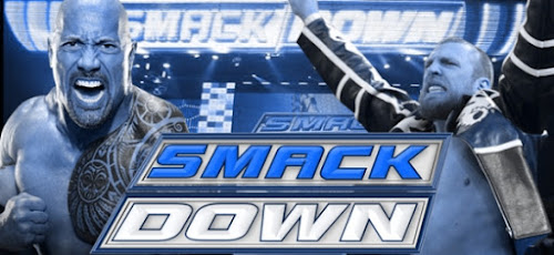Poster Of WWE SmackDown Live 8th January 2019 HDTV 480P 300MB