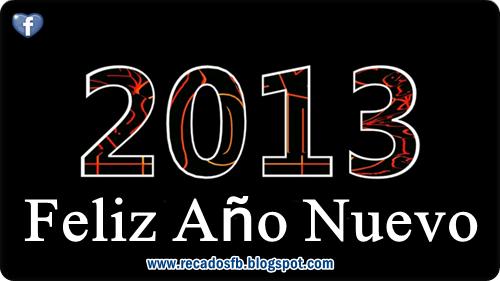 Tarjetas de feliz año nuevo con frases para facebook