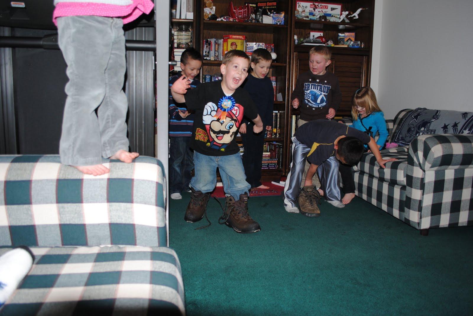 The Willes Clan Birthday Boy