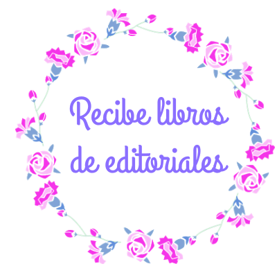 Recibe libros de editoriales
