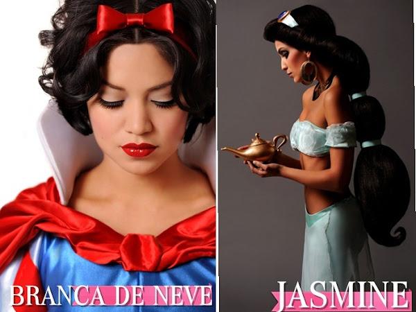 E se as princesas da Disney virassem realidade?