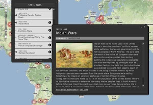 CONFLICT HISTORY - Map, timeline...
