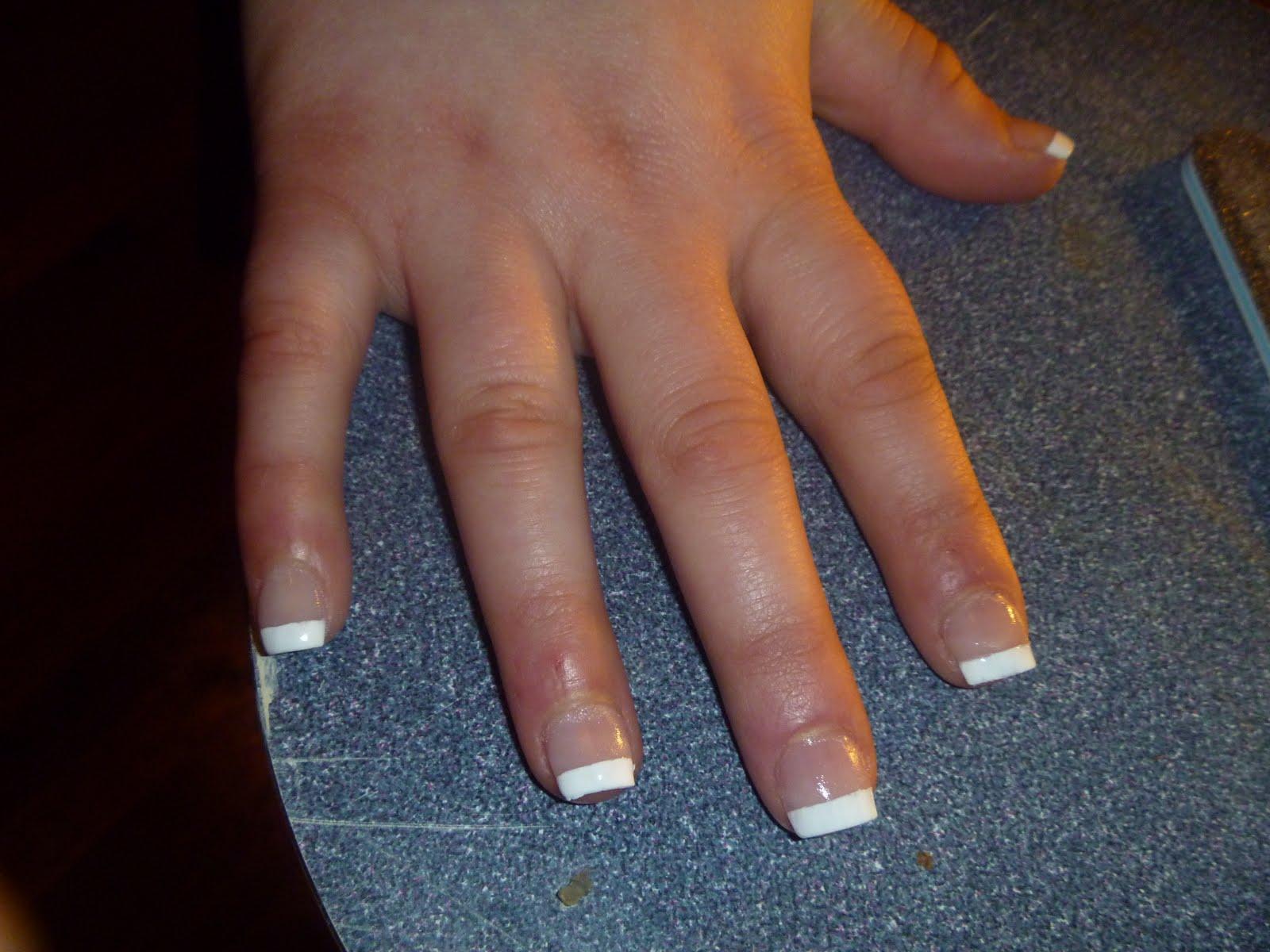 narc nail 39 s full set french manicure 39 s mani 39 s lil narcs nail art. Black Bedroom Furniture Sets. Home Design Ideas