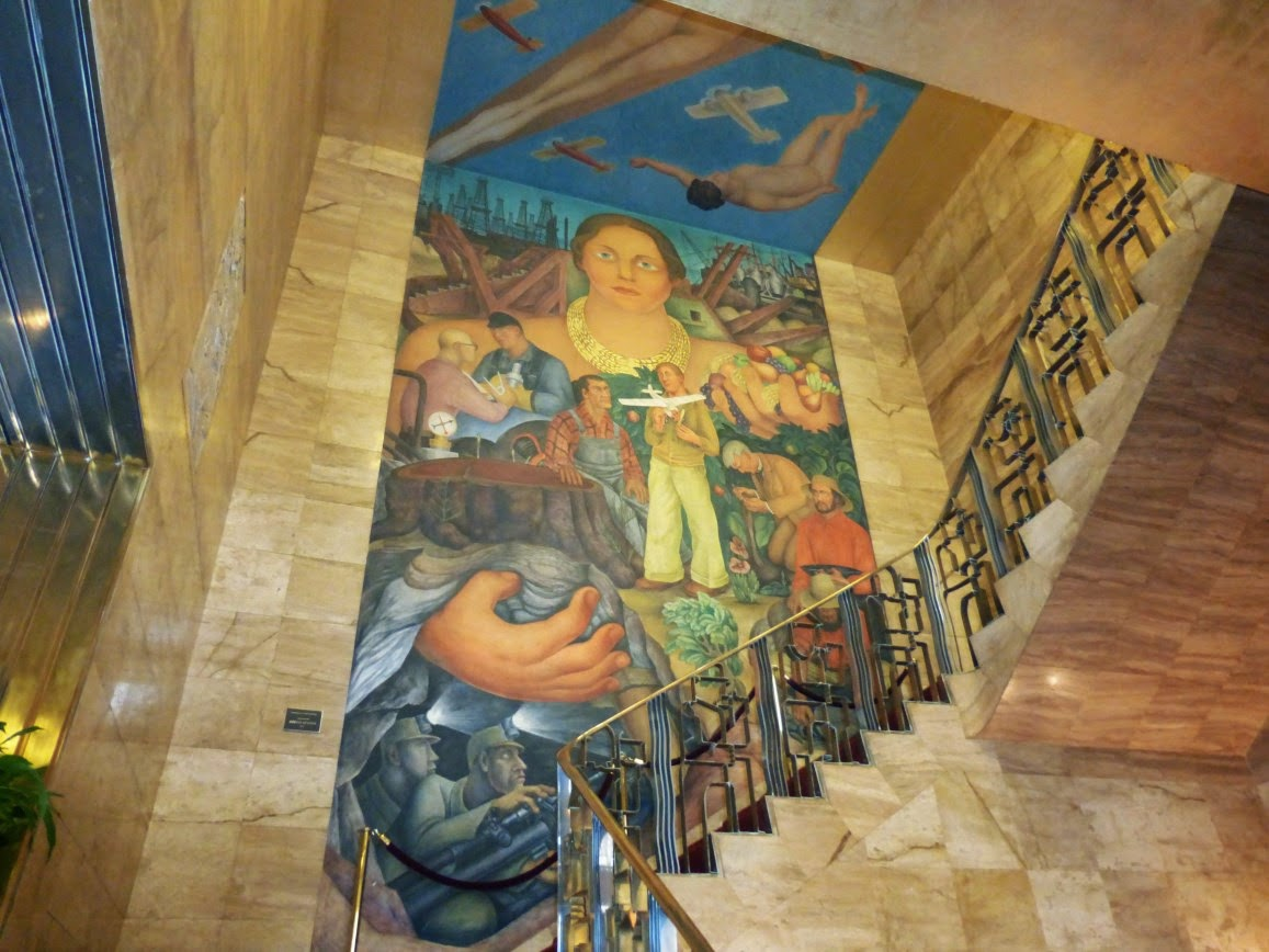 Most of the rivera mural it would take quite a lens to get for Diego rivera mural san francisco