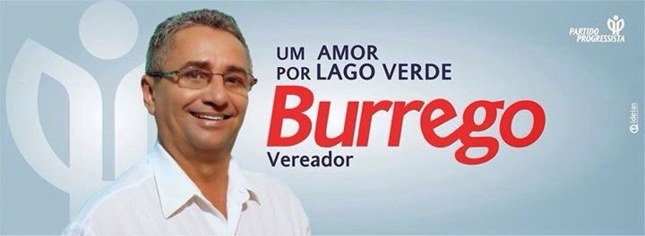Vereador Burrego