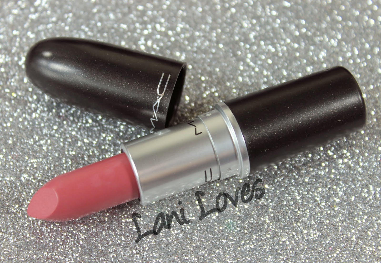 MAC Pink Plaid Lipstick Swatches & Review