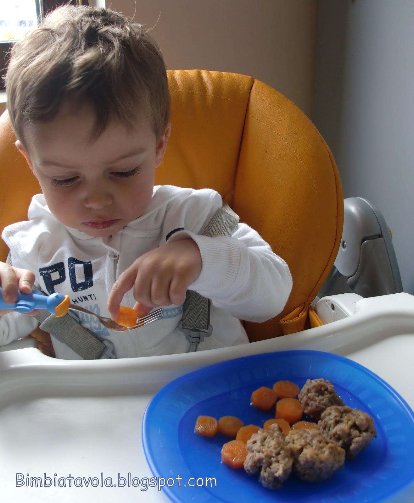 Polpette in brodo e baby led weaning da bimbi a for Cucinare per bambini 7 anni