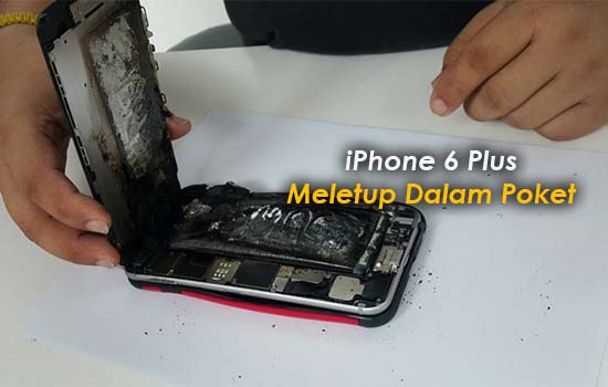 Terkejut iPhone 6 Plus Tiba-Tiba Meletup