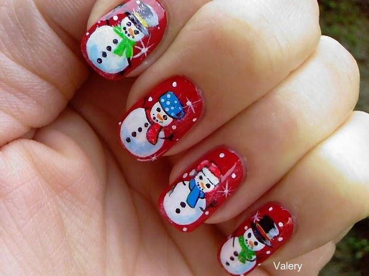 30 increíbles diseños navideños para tus uñas | Revista Velour