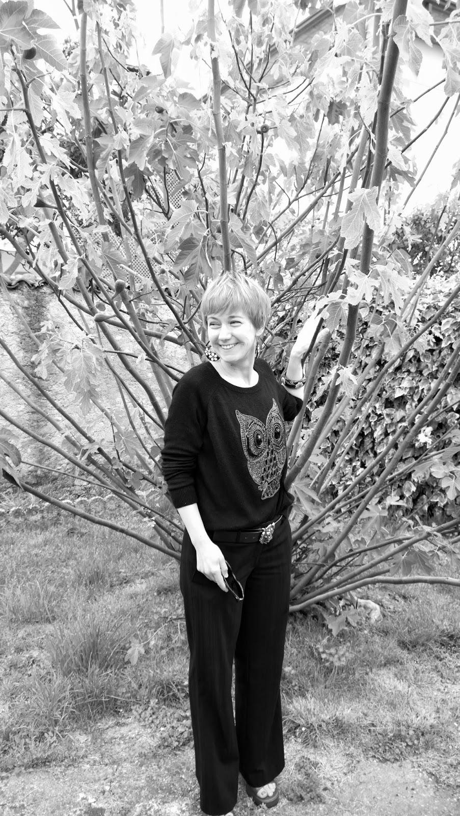 foto bianco & nero con albero