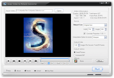 Video To Picture Converter Software | Aoao Video to Picture Converter