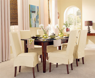How to make neat corners to recover dining room chairs