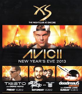 Las Vegas Nightlife Services: Las Vegas New Years Eve 2013