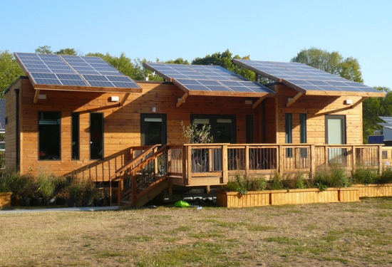 New home designs latest solar home designs for Solar powered home designs