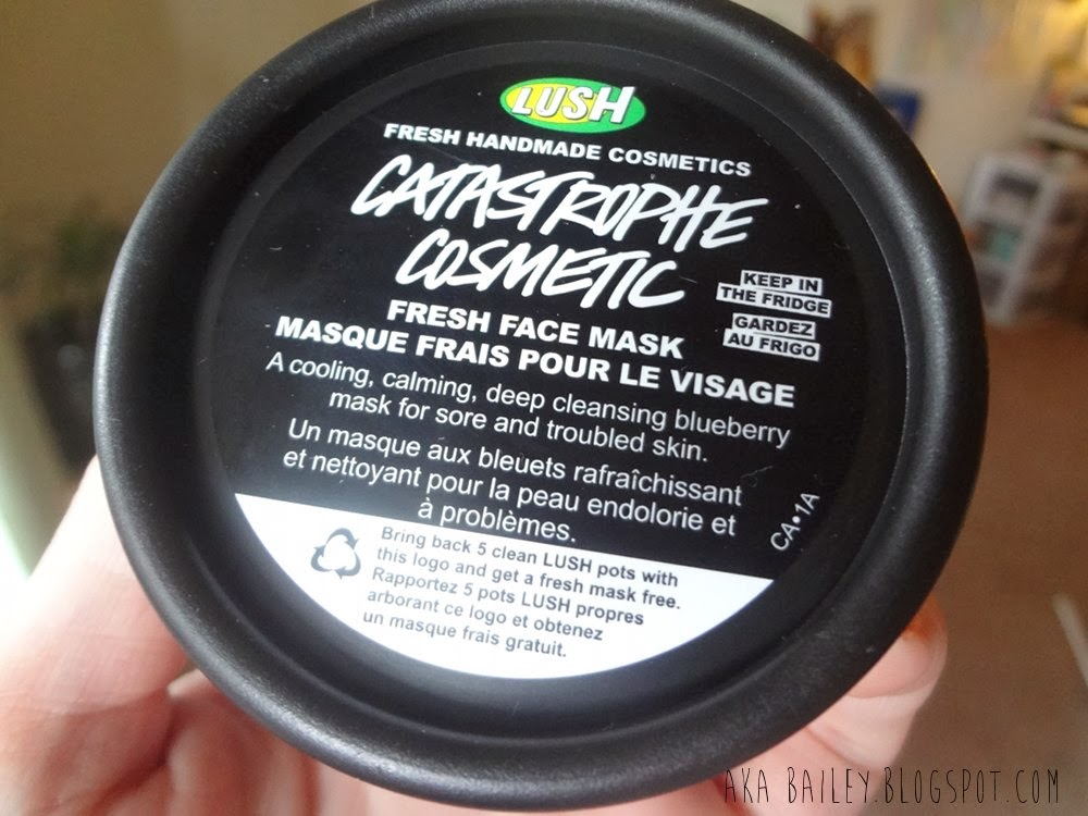 Lush Fresh Face Mask, Catastrophe Cosmetic