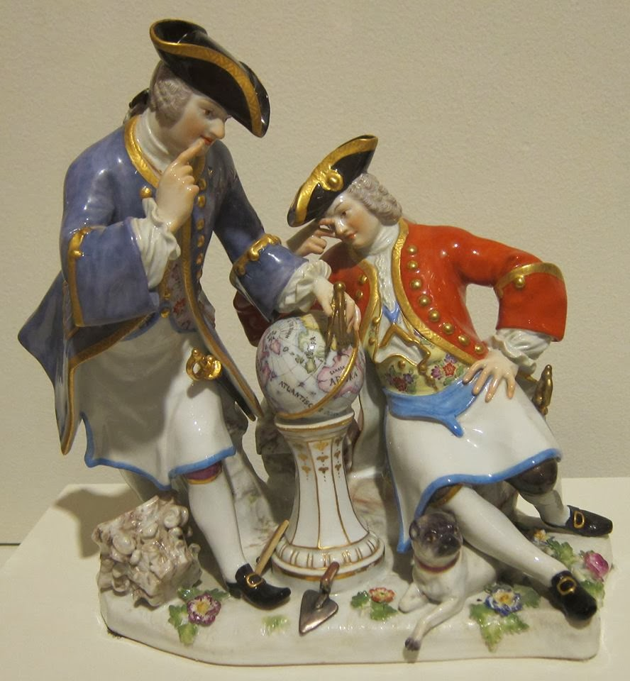 Masónes Porcelana año 1743