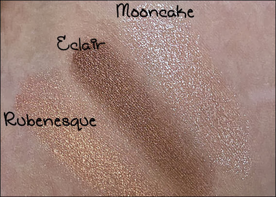 MAC Paint Pots Mooncake, Eclair, Rubenesque