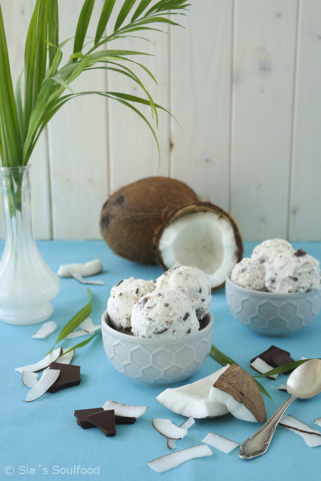 Kokos-Eis