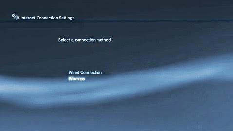 شرح كيفية توصيل أجهزة بلاي ستيشن PS3 بالانترنت سواءً سلكياً او لاسلكياً واير ليس