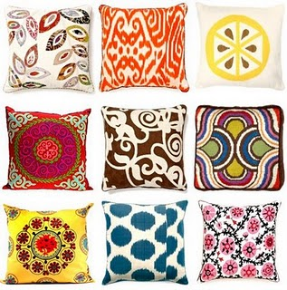 Spring Throw Pillows Photo