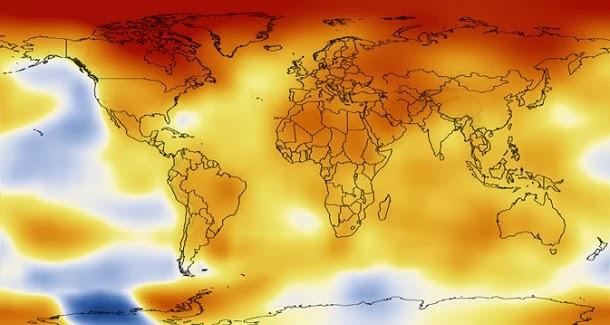 Assista a 60 anos de aquecimento global em 15 segundos (com video)