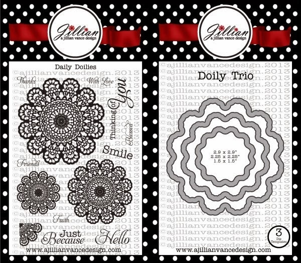 Daily Doilies Stamp and Die