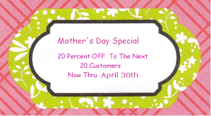 20 percent off clearlysusan's hand painted glassware
