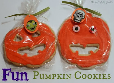 pumpkin cookies tutorial