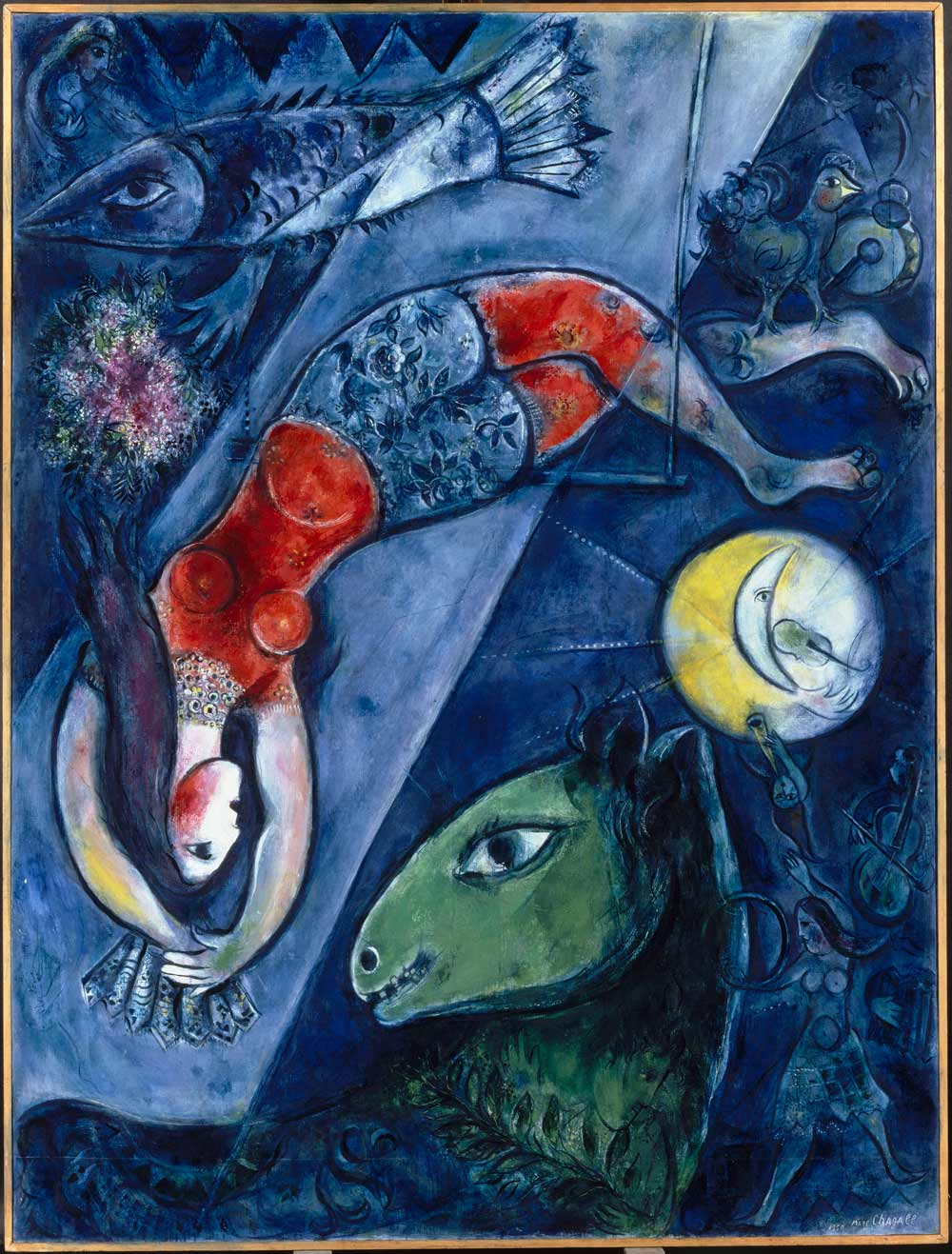 Chagall's Exhibition at Long Island Art Museum | Les Bons ... Chagall