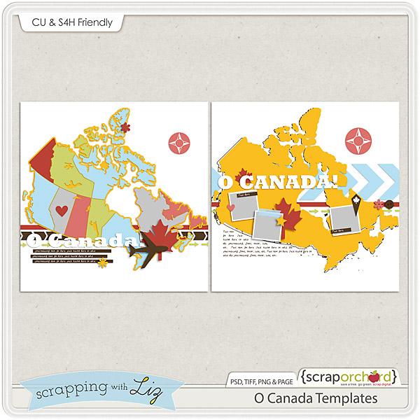 http://scraporchard.com/market/O-Canada-Digital-Scrapbook-Templates.html