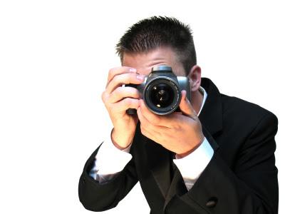 фотограф снимает вас