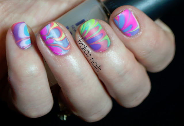 matte water marble