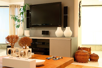 Home theater para sala de estar grande