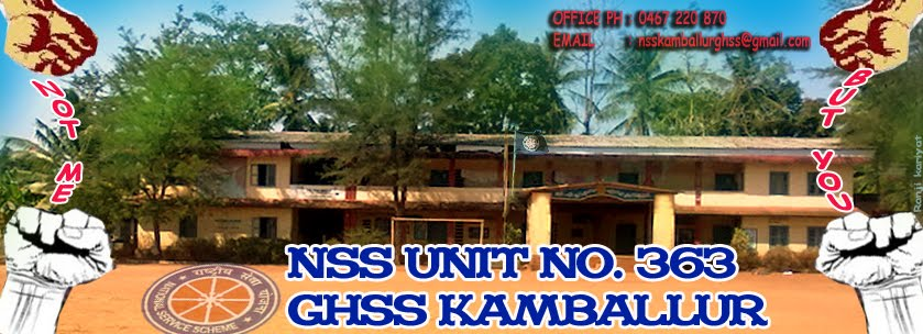 NSS GHSS KAMBALLUR,UNIT NO.363.,KASARAGOD