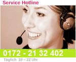 Rufen Sie an! 10-22 Uhr